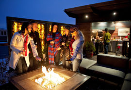 Outdoor Fireplaces & Outdoor Patio Heating Options