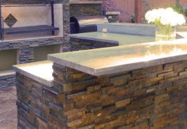 Kitchen Finishes, Veneer Stone & Brick, Fiber Cement Siding, Stucco & Tile