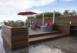 Outdoor Kitchen Patios, Concrete Slabs & Decks